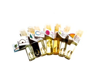 Aromatherapy Oil Sample Set
