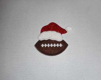 Free Shipping Ready To Ship Football  Machine Embroidery  iron on applique