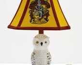 Custom Gryffindor lamp shade for Jordan