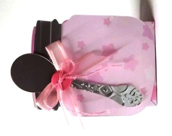 Baby Shower Favors (Set of 6) Pink