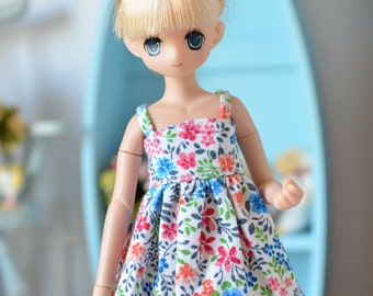 Colorful floral mini-dress for XS Azone Pureneemo