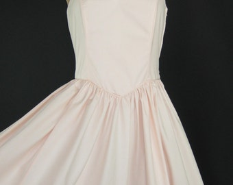 LAURA ASHLEY Vintage Romantic Bustier Party/Occasion/Prom Dress in Eglantine, UK 10/12