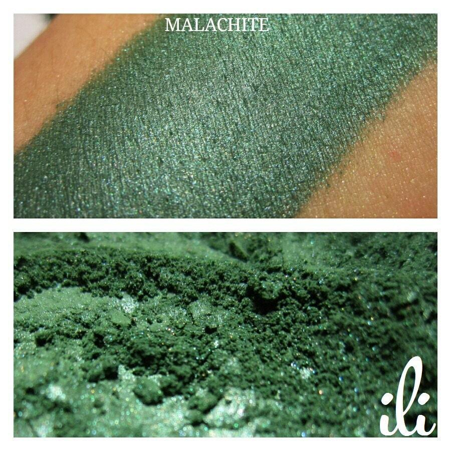 Malachite sombre pigment vert fard paupi res par - Vert de malachite ...