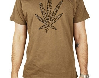 Pot Leaf Shirt seen in Dazed & Confused worn by Slater size XL