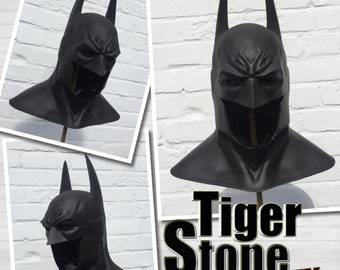 Batman Arkham Asylum inspired Cowl - Mask prop for your Costume Dark Knight