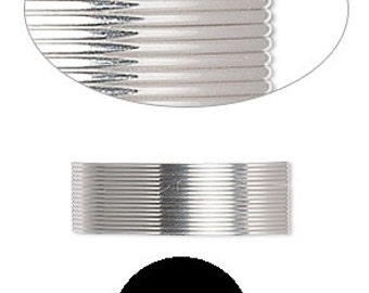 Quality Wrapping Wire Sterling Silver half-hard half-round 21 gauge 5' SS HH HR 21GA #1190 Made in America!
