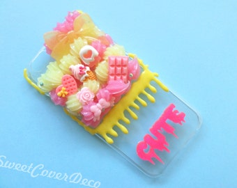 iPhone 6 - Pink/yellow phone case