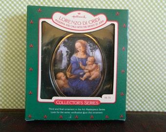 "Hallmark Keepsake Ornament ""Lorenzo Di Cridi"" Madonna And St John"
