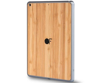 Sticker wood iPad - Bamboo