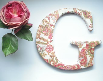 letter G wall decor