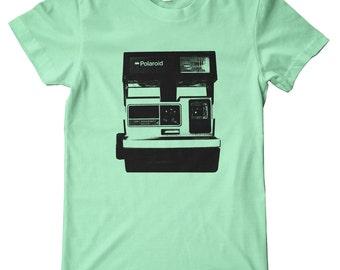 Polaroid Camera American Apparel T-Shirt