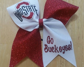 Ohio State Cheer Bow