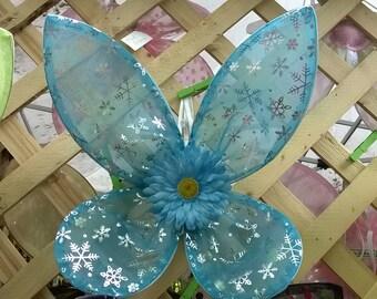 Winter Blue Fairy Wings