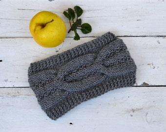 Womens knitting headband, Ear warmer, Winter headband, Knitting headband, Knitting ear warmer; Wool headband, Acrylic headband