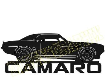 DXF File '69 Camaro