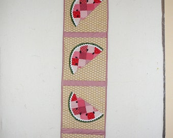 Watermelon table runner #2