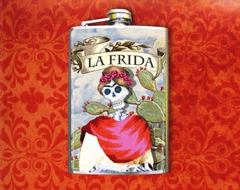 La Frida 8oz Flask