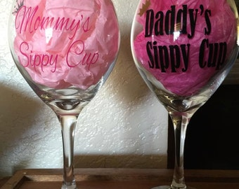 Mommy and Daddy's Sippy Cup Set
