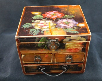 Absolutely goregous upcycled jewelry box