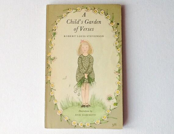 Children 39 S Poetry Book A Child 39 S Garden Of Verses