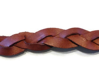 Braided Bracelet - leather bracelets, handmade