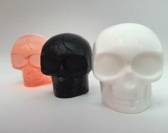 Halloween Favor: Halloween Soap Favor, 2 Mini Halloween Skull Soaps, Halloween Party Favor