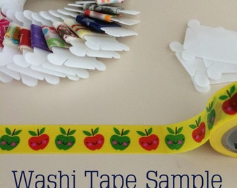 Happy Apples Washi Tape Sample