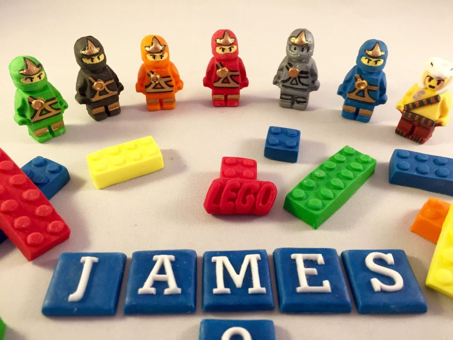 Edible Lego Ninjago Cake Topper decorations