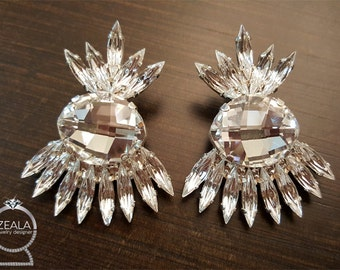Earrings Bride | Evening | Swarovski stones