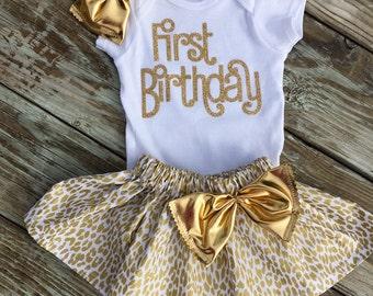 FIRST BIRTHDAY GIRL, 1st Birthday set