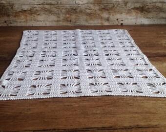 Handmade crochet table centre piece
