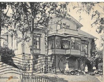 Poland, Doktorns villa. Ryds Sanatorium, Antique Postcard Postally Used 1911