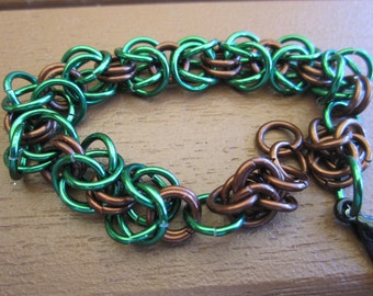 Cult of Aurato Byzantine Weave Bracelet