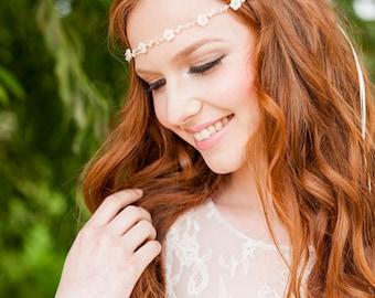 Fleur Bridal Halo Headdress