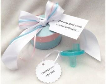 Pregnancy Announcement Idea to Aunt - Binkie Box, Cute Pregnancy Reveal to Granparents Binkie Box, Pregnancy Reveal to Aunt