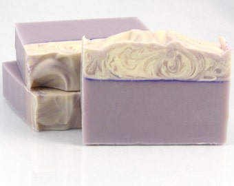 Homemade Soap - Lilac - Natural - Shea Butter Soap - Handmade Soap - Vegan Soap - Cold Process - Gift for Her