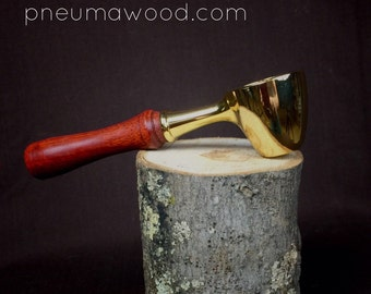 Coffee Scoop with Bloodwood Handle