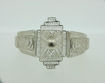 Silver Filigree Bracelet  SKU698