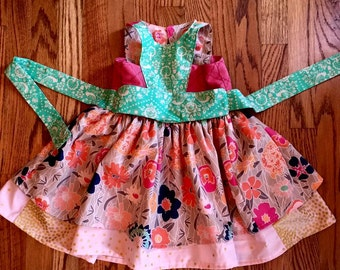 Custom Floral Dress OOAK