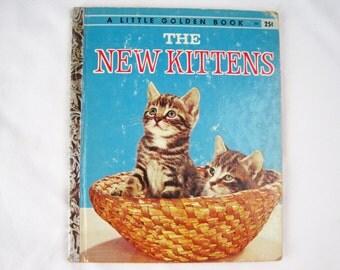 The New Kittens – Vintage Children's Little Golden Book – 302 Simon & Schuster