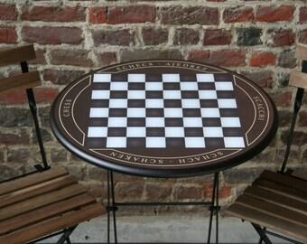 original chess table playfield 40x40cm