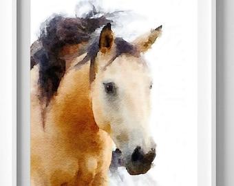 horse print,horse painting,wall art,wall decor,wall hanging,Pic no 6