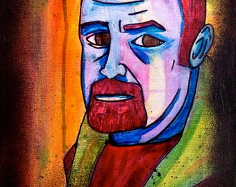 Louis C.K. Comedian and actor Louis C.K. in a colorful portrait