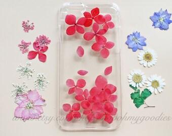 iPhone 6 Case, iPhone 5s Case, iPhone 5c Case, Samsung Galaxy S5 Case, S4 Case, iPhone SE Case, 6 Plus Case, Red Floral Flower Phone Case