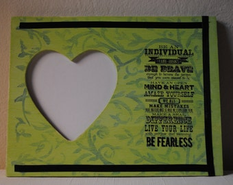 Be an Individual Heart Frame