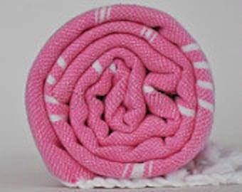 Peshtemal Beach Towel Pink
