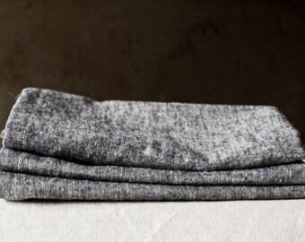 Denim Black Napkin – Hemp / Organic Cotton - Eco-friendly Table Linen