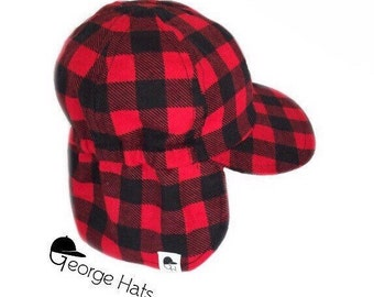 Buffalo Plaid Flannel Hat