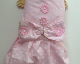 Small size Fur Baby Summer Dress harness