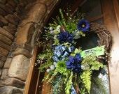 Seattle Seahawks Wreath
